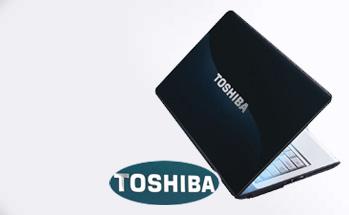 case show - toshiba laptop logo sticker