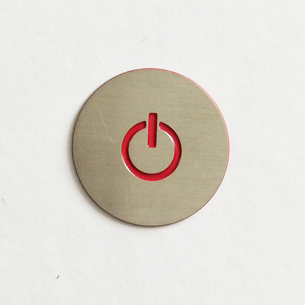 stainless steel metal sticker 40 - What are the advantages of stainless steel etched metal stickers?